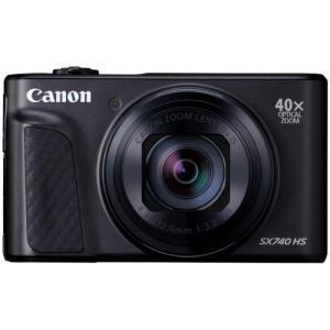 キヤノン PSSX740HSBK コンパクトデジタルカメラ PowerShot(パワーショット) S...