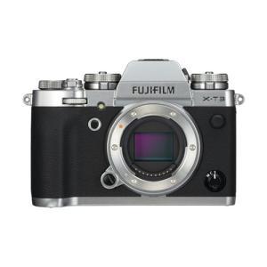 富士フイルム FX-T3-S ミラーレス一眼カメラ 「FUJIFILM X-T3」 ボディ シルバー...