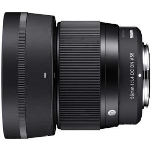 シグマ 56mm F1.4 DC DN Contemporary 交換レンズ マイクロフォーサーズ用...