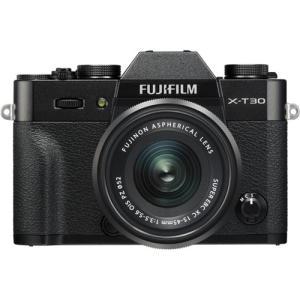 富士フイルム FUJIFILM X-T30 XC15-45mm ミラーレス一眼カメラ レンズキット ...