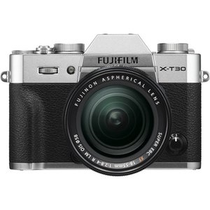 富士フイルム FUJIFILM X-T30 XF18-55mm ミラーレス一眼カメラ レンズキット ...