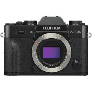 富士フイルム FUJIFILM X-T30 ミラーレス一眼カメラ ボディ ブラック<br&gt...
