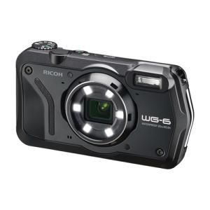 リコー WG-6 コンパクトデジタルカメラ ブラック|yamada-denki