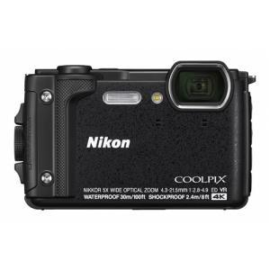 デジタルカメラ ニコン Nikon W300BK COOLPIX ブラック デジカメ 防水|ヤマダデンキ PayPayモール店