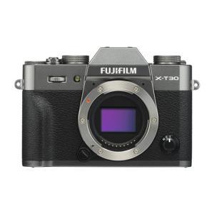 富士フイルム FUJIFILM X-T30 ミラーレス一眼カメラ ボディ チャコールシルバー
