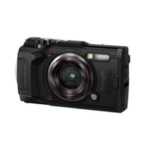 オリンパス TG-6 デジタルカメラ Tough(タフ)  ブラック|yamada-denki