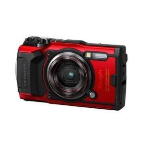 オリンパス TG-6 デジタルカメラ Tough(タフ)  レッド|yamada-denki