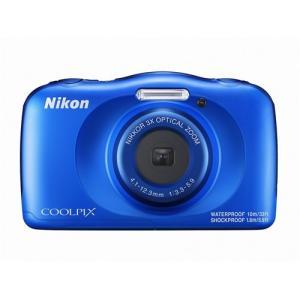 ニコン COOLPIX W150 BL デジタルカメラ   ブルー|yamada-denki