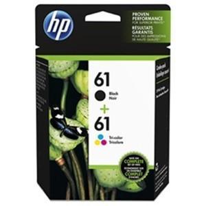 ヒューレットパッカード CR311AA インクカートリッジ HP61コンボパック (ブラック&3色カ...
