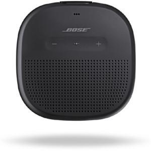 BOSE(ボーズ) SLINKMICROBLK SoundLink Micro Bluetoothスピーカー ブラック|yamada-denki