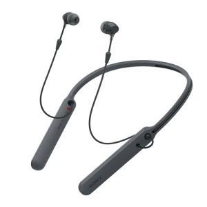 ソニー WI-C400-B ワイヤレスステレオヘッドセット ブラック|yamada-denki