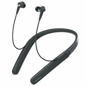 ソニー WI-1000X-B ワイヤレスノイズキャンセリングステレオヘッドセット ブラック|yamada-denki