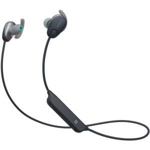 ソニー WI-SP600N-B ワイヤレスノイズキャンセリングステレオヘッドセット ブラック|yamada-denki