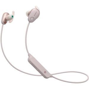 ソニー WI-SP600N-P ワイヤレスノイズキャンセリングステレオヘッドセット ピンク|yamada-denki