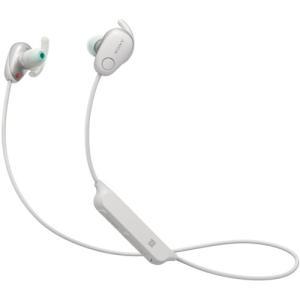 ソニー WI-SP600N-W ワイヤレスノイズキャンセリングステレオヘッドセット ホワイト|yamada-denki