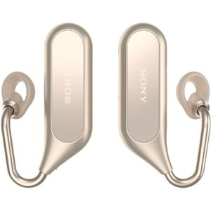 ソニー XEA20-N ワイヤレスオープンイヤーステレオヘッドセット 「Xperia Ear Duo」 ゴールド|yamada-denki
