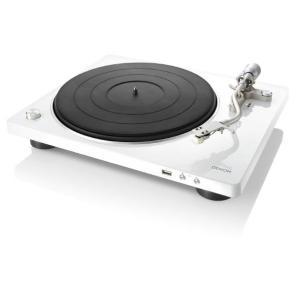 DENON DP-450USB-W ホワイト  レコードプレーヤー