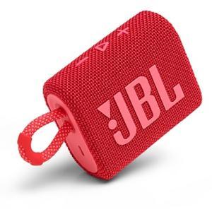 ジェイビーエル JBLGO3RED JBL Go 3 ポータブルBluetoothスピーカー レッド