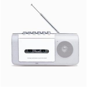 ステイヤー ST-RC01WH AM/FMラジオ カセットテ...