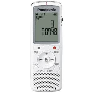 パナソニック RR-QR220-W ICレコーダー 2GB ホワイト