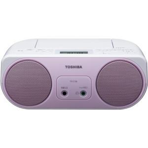 東芝 TY-C150-P ワイドFM対応 CDラジオ ピンク