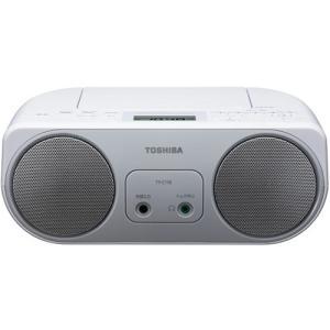 東芝 TY-C150-S ワイドFM対応 CDラジオ シルバー|yamada-denki