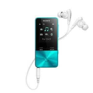 ソニー NW-S315-L ウォークマン Sシリーズ[メモリータイプ] 16GB ブルー<br...