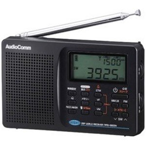 オーム電機 RAD-S600N ワイドFM対応 FM/MW/SW(短波)/LW(長波) 携帯ラジオ&...