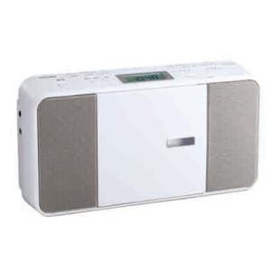 東芝 TY-C251(W) CDラジオ ホワイト|yamada-denki