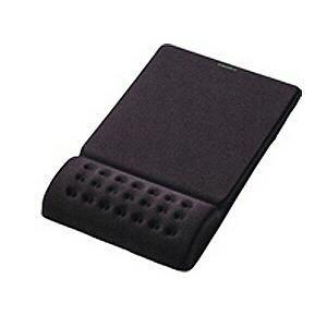 エレコム MP-095BK マウスパッド「COMFY」 ブラック<br>131