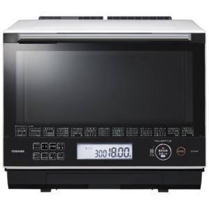 東芝 ER-SD3000-W 過熱水蒸気オーブンレンジ 「石窯ドーム」 30L グランホワイト&lt...