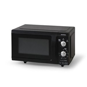 アイリスオーヤマ EMO-F518-5 電子レンジ 18L フラットテーブル 50Hz ブラック|yamada-denki