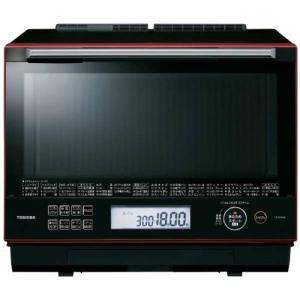 東芝 ER-TD3000-R 過熱水蒸気オーブンレンジ 石窯ドーム 30L グランレッド|yamada-denki