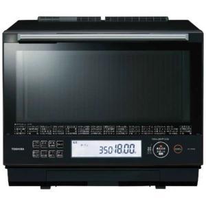 東芝 ER-TD5000-K 過熱水蒸気オーブンレンジ 石窯ドーム 30L グランブラック|yamada-denki