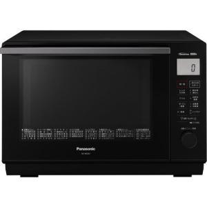 【無料長期保証】パナソニック 電子レンジ オーブンレンジ NE-MS267-K エレック 1段調理タイプ 26L ブラックの画像
