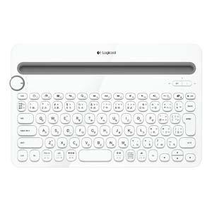 ロジクール K480WH マルチデバイス対応Bluetoothキーボード (ホワイト)