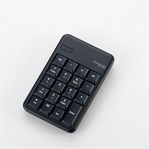 エレコム TK-TBM016BK Bluetooth ワイヤレステンキーパッド ブラック<br...