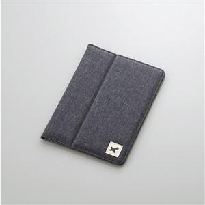 エレコム TB-08FCHBK 7.0〜8.4インチ汎用タブレットケース(ファブリック) ブラック|yamada-denki