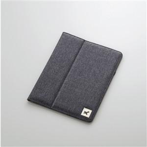エレコム TB-10FCHBK 8.9〜10.1インチ汎用タブレットケース(ファブリック) ブラック|yamada-denki