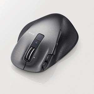 エレコム M-XGL20DLBK EX-GUltimateLaserマウスLサイズ ブラック|yamada-denki