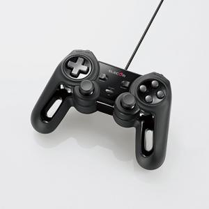 エレコム JC-U4013SBK 超高性能有線ゲームパッド ブラック|yamada-denki