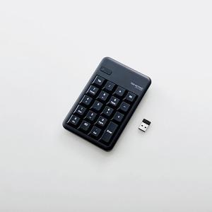 エレコム TK-TDM017BK 2.4GHzワイヤレステンキーパッド<br>131