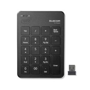 エレコム TK-TDP019BK 無線薄型テンキーパッド ブラック<br>131
