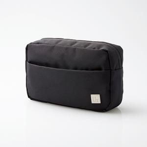 エレコム BMA-UBGP01BK スタンダードキャリングバッグ「UB」(ガジェットポーチ) ブラック yamada-denki