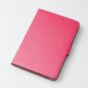 エレコム TB-A19S360PN iPad Sサイズ 2019年モデル/iPad mini 4用フラップカバー/ソフトレザー/360度回転 ピンク|yamada-denki