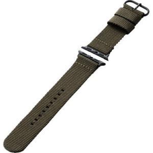 エレコム AW-40BDNATKH Apple Watch 40 38mm シリコンバンド イントレチャート カーキ yamada-denki