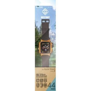 エレコム AW-44BCNESTDR Apple Watch 44mm NESTOUTバンドケース オレンジ|yamada-denki