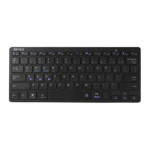 バッファロー BSKBB310BK Bluetoothキーボード 日本語配列78キー ブラック&lt...