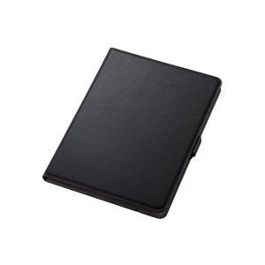 エレコム TB-A19R360BK iPad 10.2 2019年モデル/フラップケース/ソフトレザ...