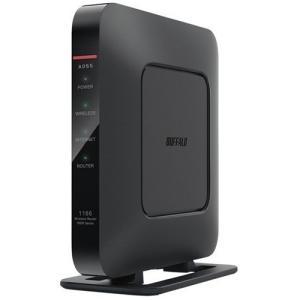 バッファロー WSR-1166DHP4-BK Wi-Fiルーター ブラック